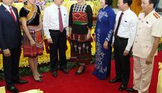 Thường trực Ban Bí thư Trần Quốc Vượng dự Đại hội Đảng bộ huyện Văn Yên
