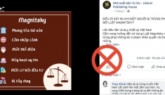 Cảnh giác âm mưu áp dụng luật Magnitsky vào Việt Nam