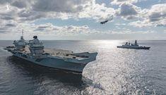 Anh chuẩn bị đưa tàu sân bay đến Đông Á đương đầu Trung Quốc