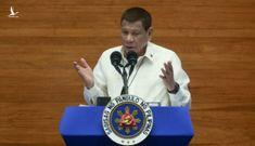 Tổng thống Duterte: Philippines không thể đối đầu Trung Quốc về tranh chấp biển