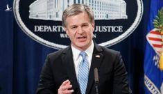 Giám đốc FBI nói Trung Quốc là 'mối đe dọa lớn' với Mỹ
