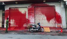 """TP.HCM: Làm rõ vụ một ngôi nhà bị tạt sơn nghi do """"khủng bố"""" đòi nợ"""