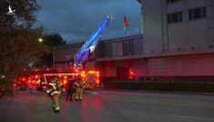 Nhân viên Tổng lãnh sự quán Trung Quốc ở Houston đốt tài liệu mật gây hỏa hoạn