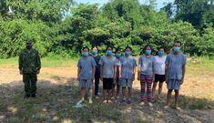 Bắt giữ 9 đối tượng nhập cảnh trái phép vào Việt Nam
