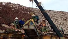 Đang tháo dỡ nhà thờ Bùi Chu