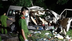 Tai nạn thảm khốc ở Bình Thuận, ít nhất 8 người chết