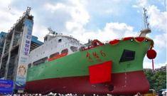 Trung Quốc hạ thuỷ tàu khảo sát mới