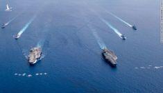 Tàu sân bay Mỹ hiện diện ở Biển Đông: Mỹ muốn gửi thông điệp gì?