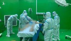 Mổ cấp cứu cứu BN 888 bị xuất huyết tiêu hóa giữa tâm dịch Covid-19