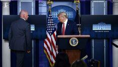 Ông Trump được mật vụ đưa đi giữa họp báo vì nổ súng gần Nhà Trắng