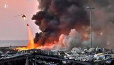 Có người Việt Nam bị thương trong vụ nổ kinh hoàng ở Lebanon