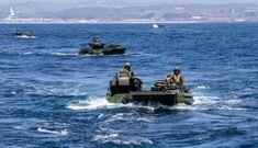 Thiết giáp lội nước Mỹ chìm, 8 người mất tích