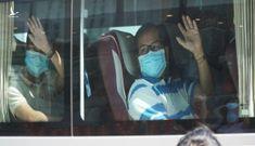 Đoàn y bác sĩ Huế, Bình Định rời khỏi Đà Nẵng