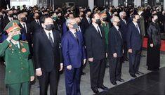 Quốc tang Nguyên Tổng bí thư Lê Khả Phiêu thì liên quan gì đến nhân sự Đại hội XIII?