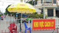 Phong tỏa tổ dân cư nơi bệnh nhân 672 sinh sống