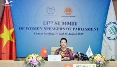 Chủ tịch Quốc hội dự Hội nghị các nữ Chủ tịch Quốc hội thế giới