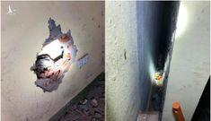 Đã xác định người mẹ ném con trong khe tường hẹp ở Gia Lâm, Hà Nội