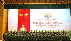 Ra mắt 61 đại biểu quân đội dự Đại hội Đảng toàn quốc lần thứ 13