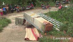 Sập cổng trường đè chết 3 học sinh: Lỗi do ai?