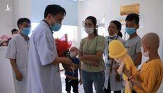 Bệnh nhi 8 tuổi ung thư được ghép tủy thành công tại Bệnh viện Trung ương Huế