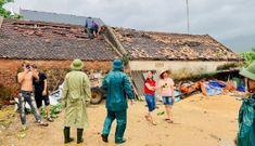 Bão số 5 gây thiệt hại nặng cho nhiều tỉnh, thành miền Trung