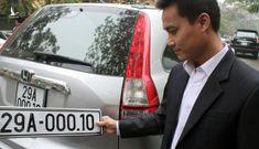 Bộ Công an sẽ sớm đấu giá biển số xe để người dân chọn theo sở thích
