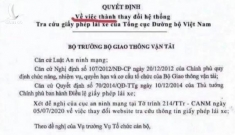 Quyết định dừng hệ thống tra cứu giấy phép lái xe là văn bản giả mạo