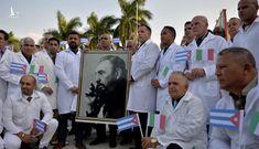 'Biệt đội áo trắng' Cuba được đề cử Nobel Hòa bình