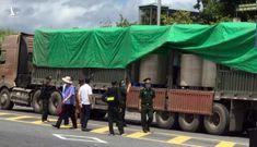 Quảng Ninh: Bắt giữ 2 container chở 'chất lạ' từ Việt Nam sang Trung Quốc