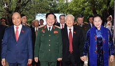"""Tổng Bí thư, Chủ tịch nước: Quân đội bảo đảm môi trường """"trong ấm, ngoài êm"""" cho đất nước"""