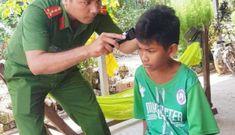 Đại úy công an hết lòng với trẻ em nghèo