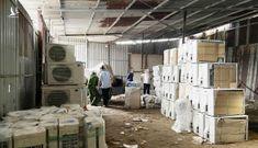Tạm giữ hơn 1.000 thiết bị điện tử, điện lạnh từ biên giới Campuchia về TP.HCM