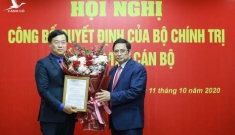 Ông Lê Quốc Phong được giới thiệu làm Bí thư Tỉnh ủy Đồng Tháp