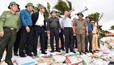 Phó Thủ tướng Trịnh Đình Dũng kiểm tra khu sơ tán tại Quảng Nam