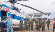 Sẵn sàng điều 7 trực thăng vào miền Trung chống bão