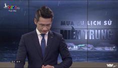 BTV Tuấn Dương gây xúc động khi dẫn live về miền Trung-'Mình xem mà cũng bật khóc thực sự'