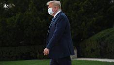 Tổng thống Trump tuyên bố không còn khả năng lây nhiễm