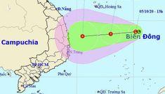 Áp thấp nhiệt đới gió giật cấp 9 ảnh hưởng vùng biển Bình Định – Khánh Hòa