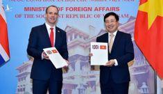Việt Nam – Anh thống nhất UNCLOS là cơ sở xác định quyền trên biển