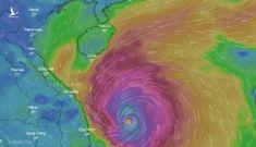 6h sáng nay 28-10, bão số 9 cách Quảng Ngãi 140km, vẫn giật cấp 16