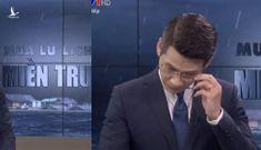 Khán giả nói gì khi BTV của VTV xin lỗi và khóc trên sóng trực tiếp?