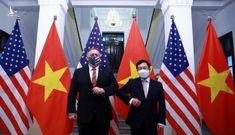 Phó Thủ tướng, Bộ trưởng Ngoại giao Phạm Bình Minh hội đàm với Ngoại trưởng Mỹ Mike Pompeo