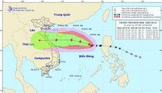Bão số 8 gió giật cấp 13, hướng vào quần đảo Hoàng Sa và còn mạnh thêm