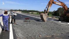 Phát hiện thêm hàng nghìn m2 đường cao tốc Đà Nẵng – Quảng Ngãi hư hỏng