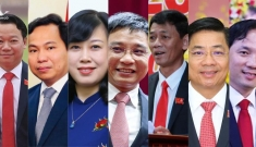 Chân dung 7 tân Bí thư Thành ủy, Tỉnh ủy thế hệ 7X vừa đắc cử
