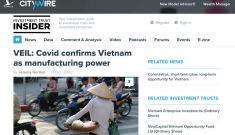 VEIL: Covid khiến Việt Nam được khẳng định là cường quốc sản xuất