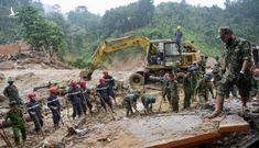 Bộ đội, công an bới đất đá tìm người mất tích