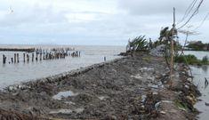 Cà Mau ban bố tình huống khẩn cấp tại 5 đoạn sạt lở đê biển Tây
