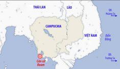 Bất thường ở căn cứ hải quân Campuchia phía nam Biển Đông
