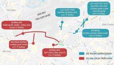 6 dự án giảm kẹt xe khu vực Tân Sơn Nhất